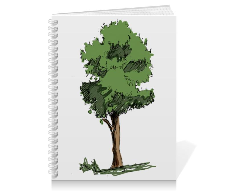 Printio Тетрадь на пружине Сказочное дерево