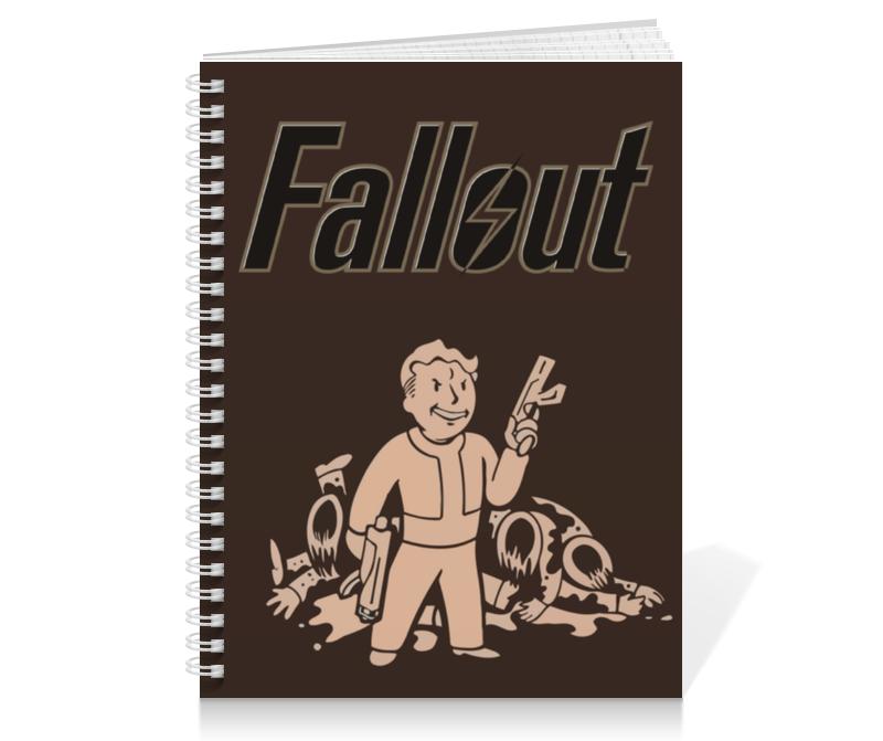 Printio Тетрадь на пружине Fallout