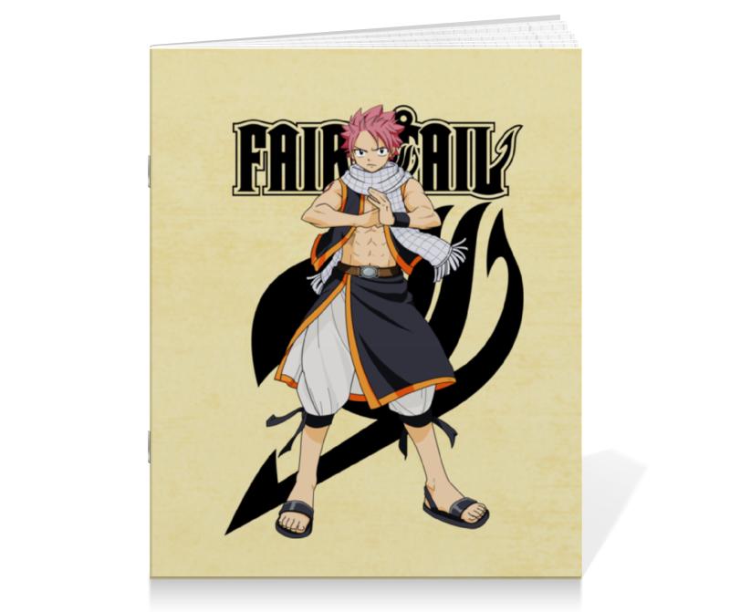 Printio Тетрадь на скрепке Fairy tail. нацу нацу fairy tail