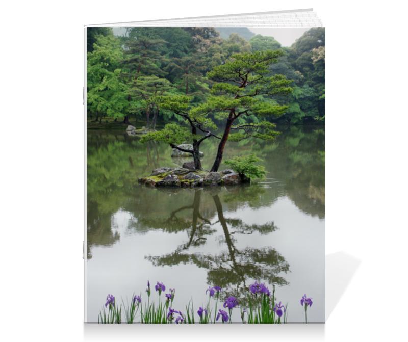 Printio Тетрадь на скрепке Японский сад printio тетрадь на скрепке фруктовый сад весной альфред сислей