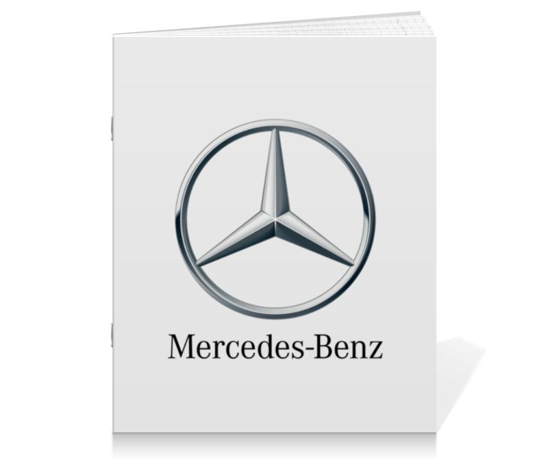 Printio Тетрадь на скрепке Mercedes-benz