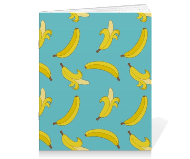 Printio Тетрадь на скрепке Банановый рай