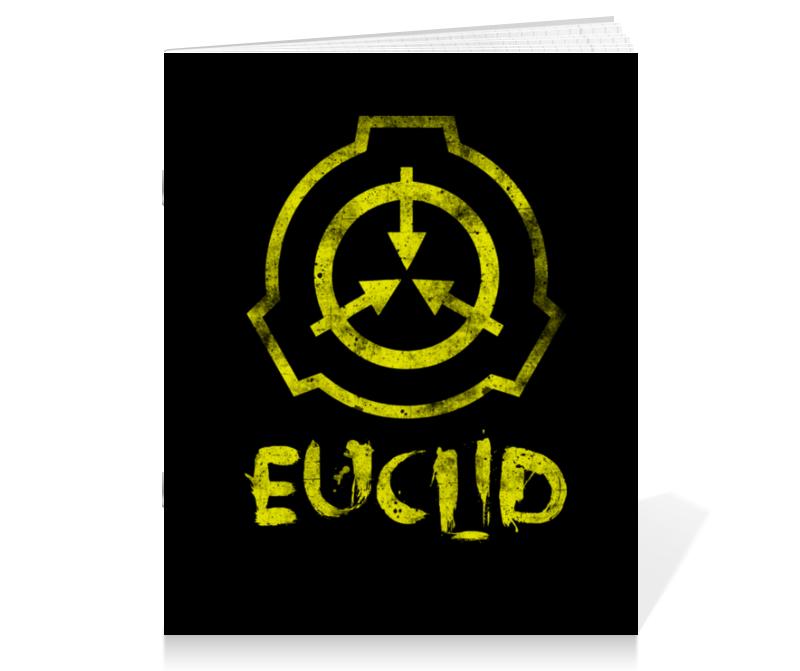 Printio Тетрадь на скрепке Scp, euclid printio плакат a3 29 7×42 scp euclid
