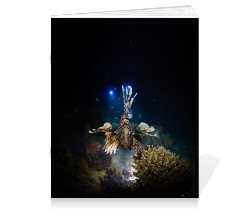 Printio Тетрадь на скрепке Рыба крылатка