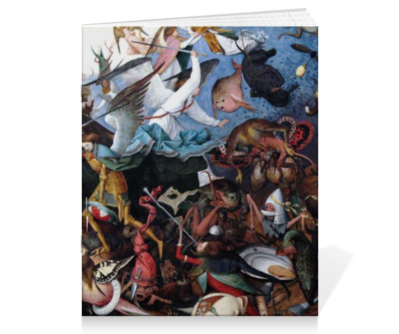 Printio Тетрадь на скрепке Падение мятежных ангелов (питер брейгель)