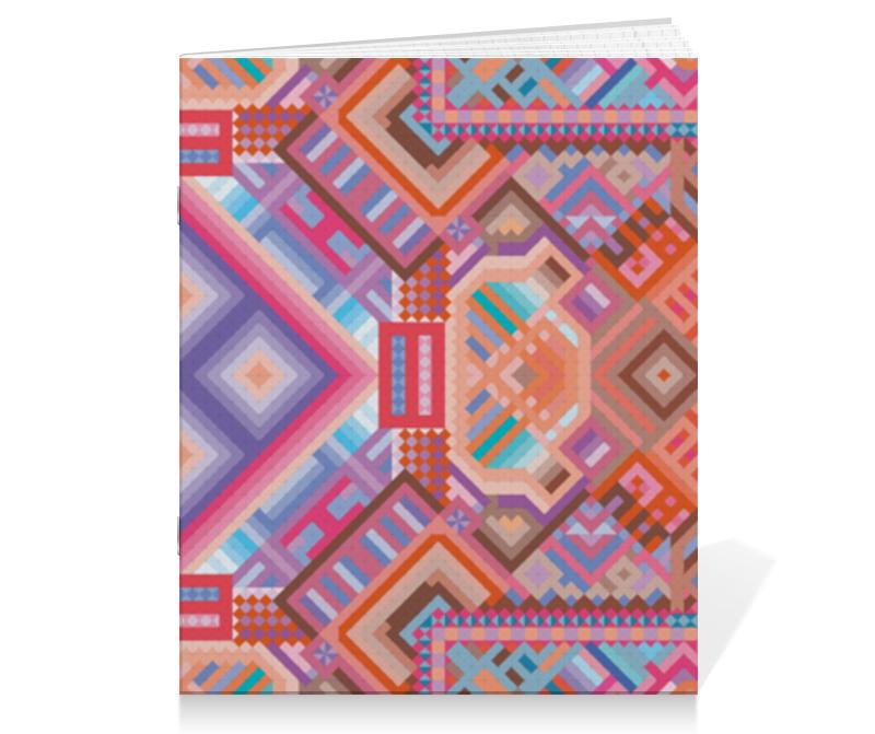 Printio Тетрадь на скрепке с абстрактным рисунком printio сумка с абстрактным рисунком