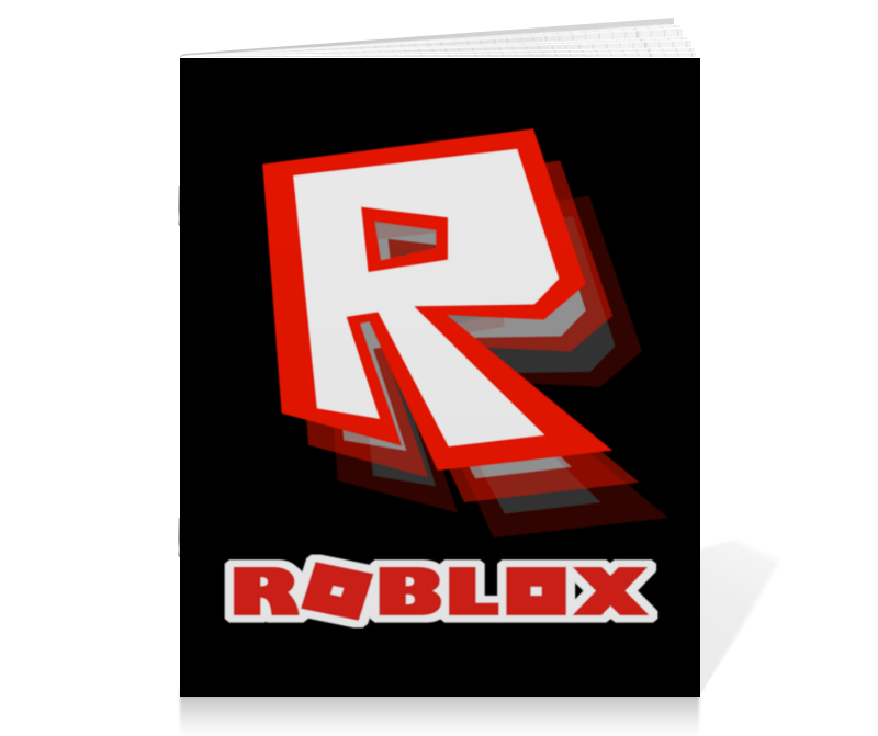 Printio Тетрадь на скрепке Roblox   роблокс