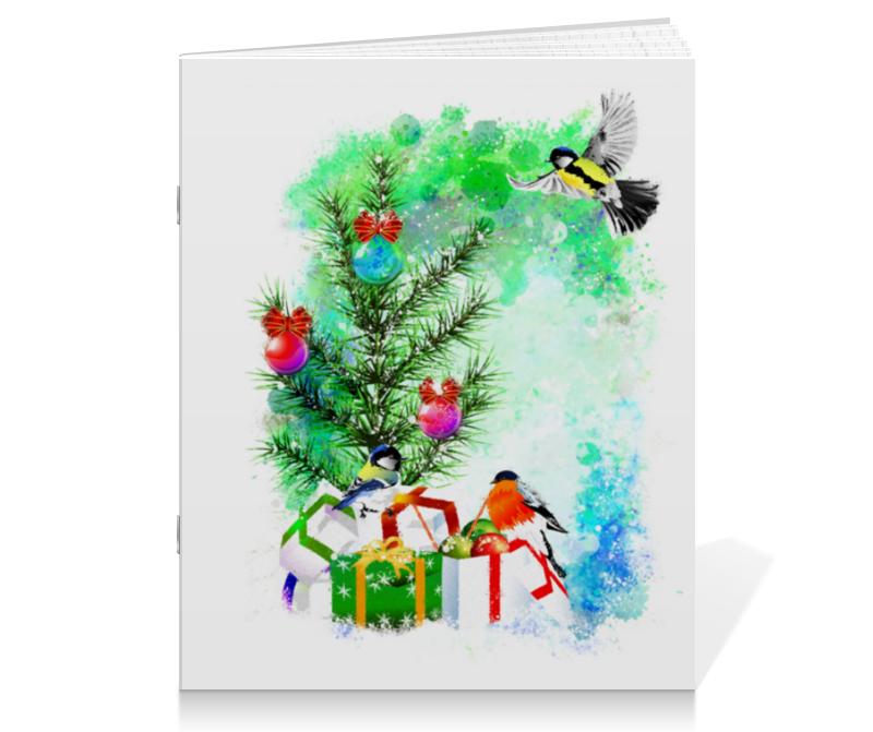 printio тетрадь на скрепке новогоднее настроение Printio Тетрадь на скрепке Новогоднее настроение.