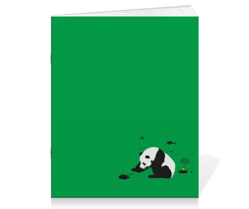printio тетрадь на скрепке панда Printio Тетрадь на скрепке Панда