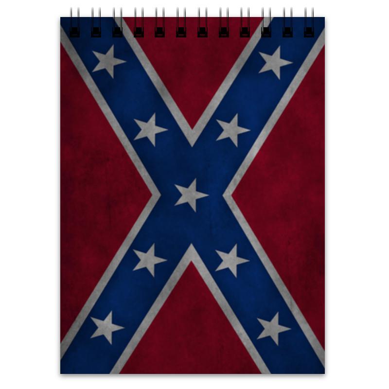 Printio Блокнот Флаг конфедерации сша