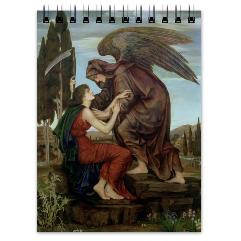 Printio Блокнот Ангел смерти (эвелин де морган)