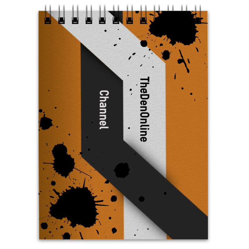 Printio Блокнот Official notebook channel thedenonline channel