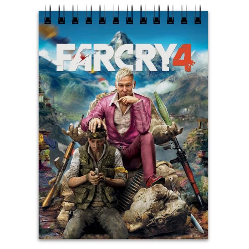 блокнот printio farcry4 Printio Блокнот Farcry4