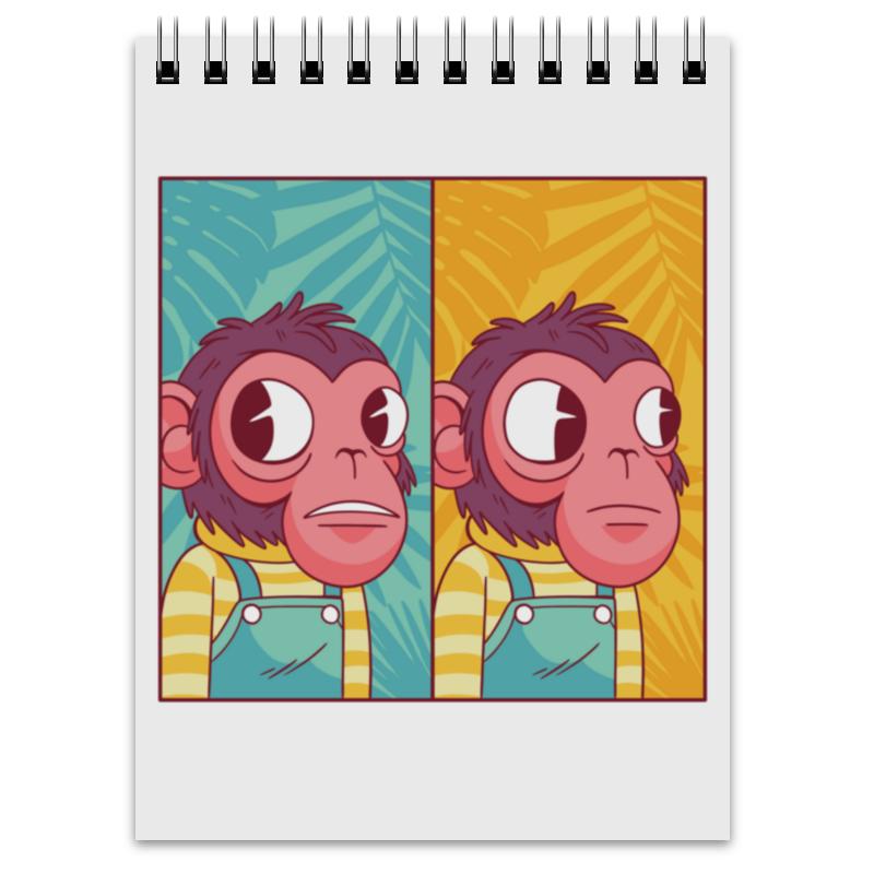 Printio Блокнот Мем с обезьяной