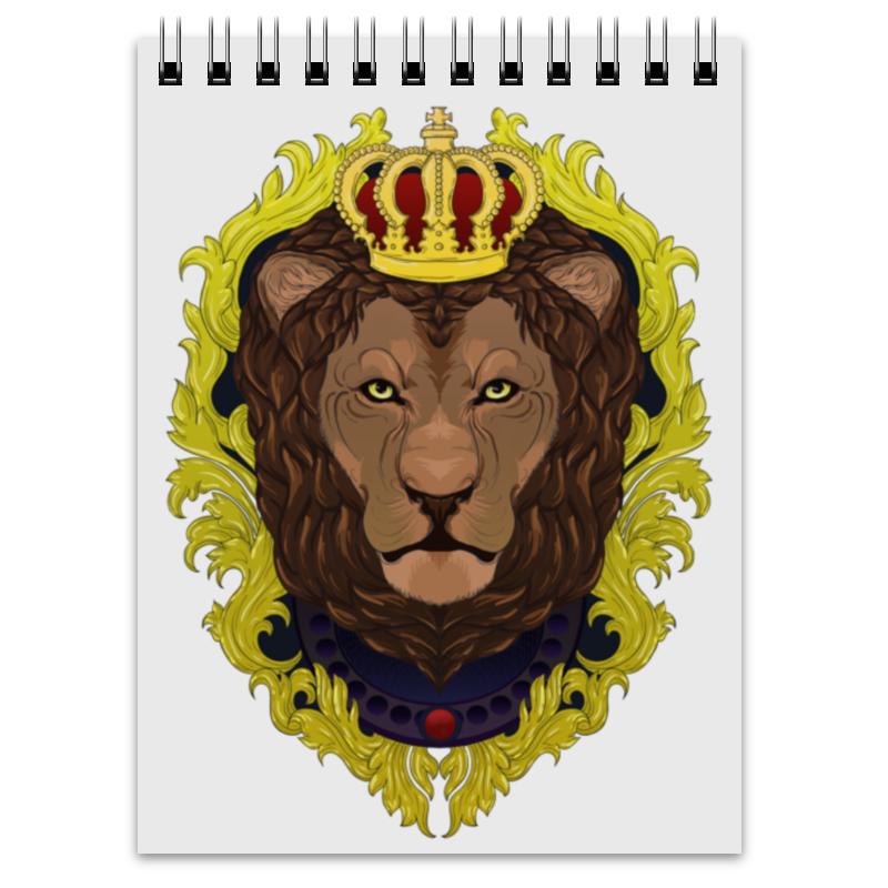 printio lion rastaman Printio Блокнот -lion-