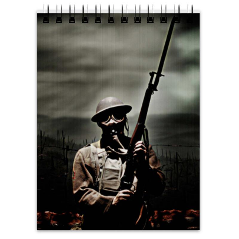 Printio Блокнот Солдат