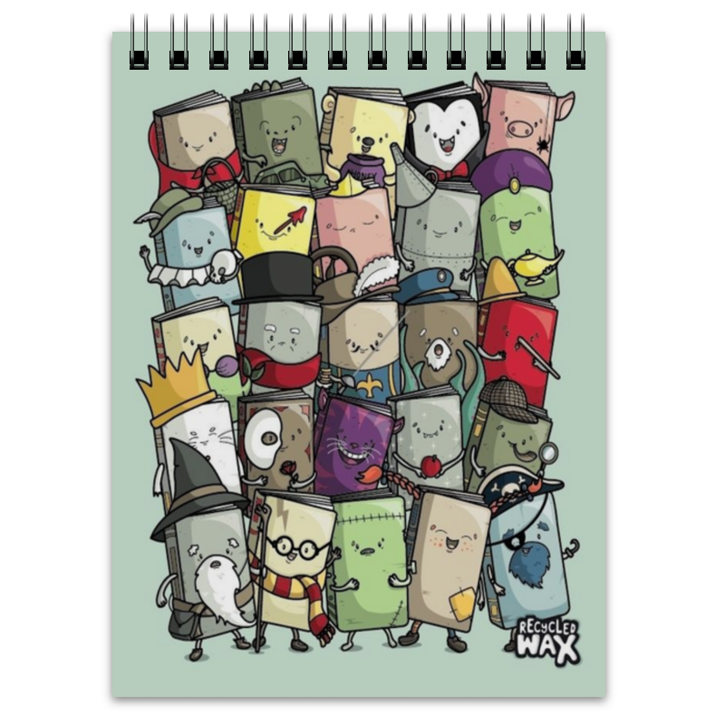 Printio Блокнот Маленькие книжки