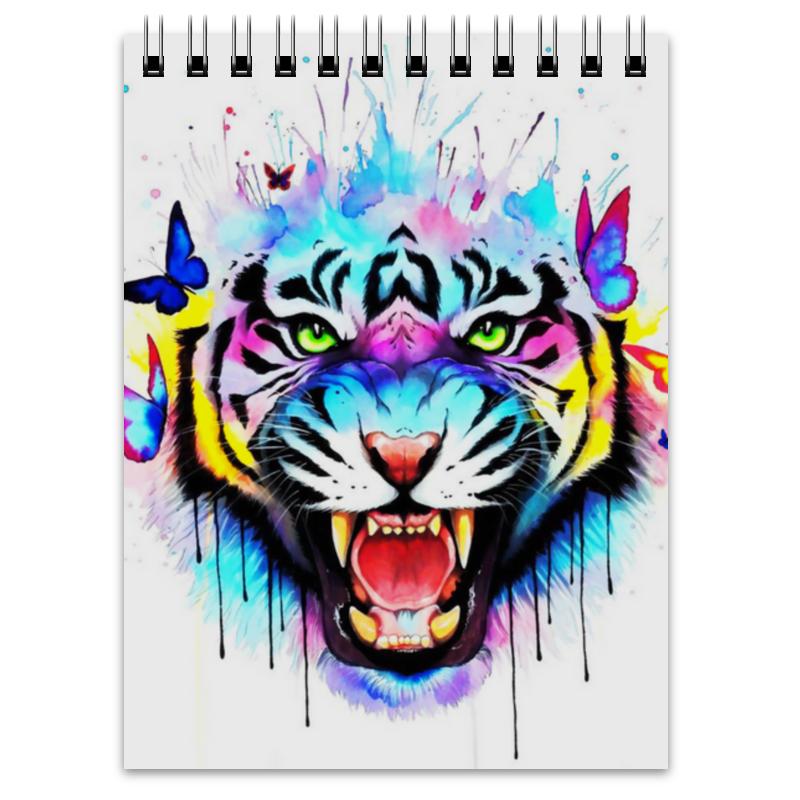 Printio Блокнот Краски тигр