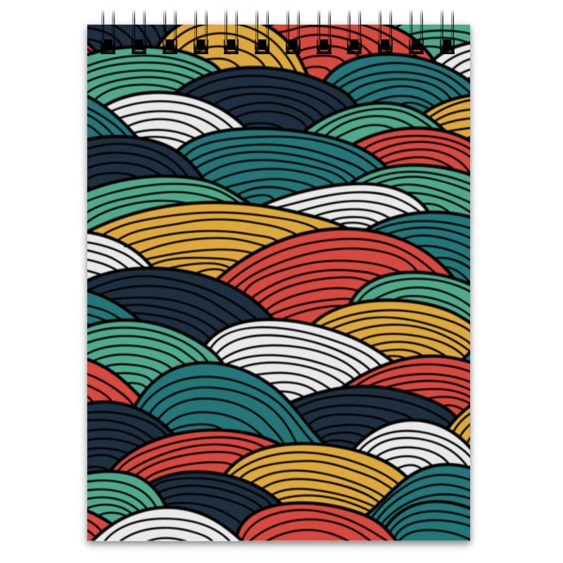 Printio Блокнот Цветные волны