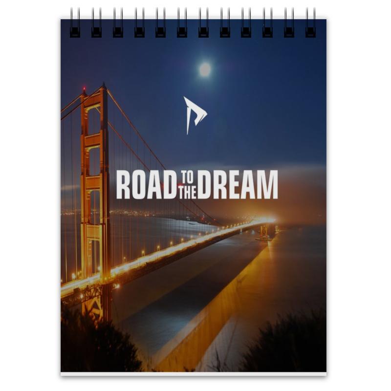 Printio Блокнот Road to the dream