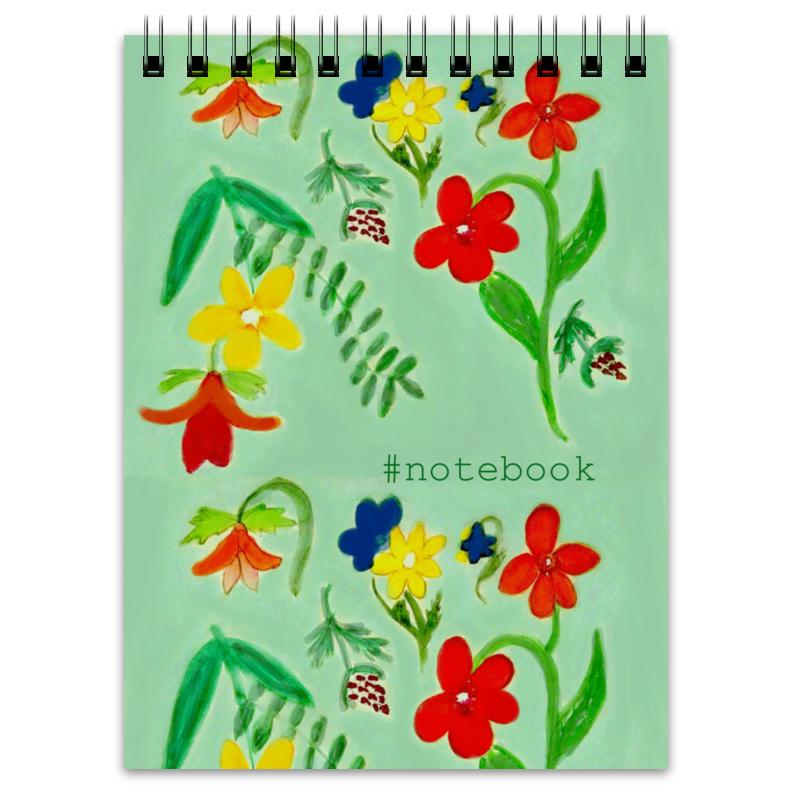 Printio Блокнот Блокнот летние цветы