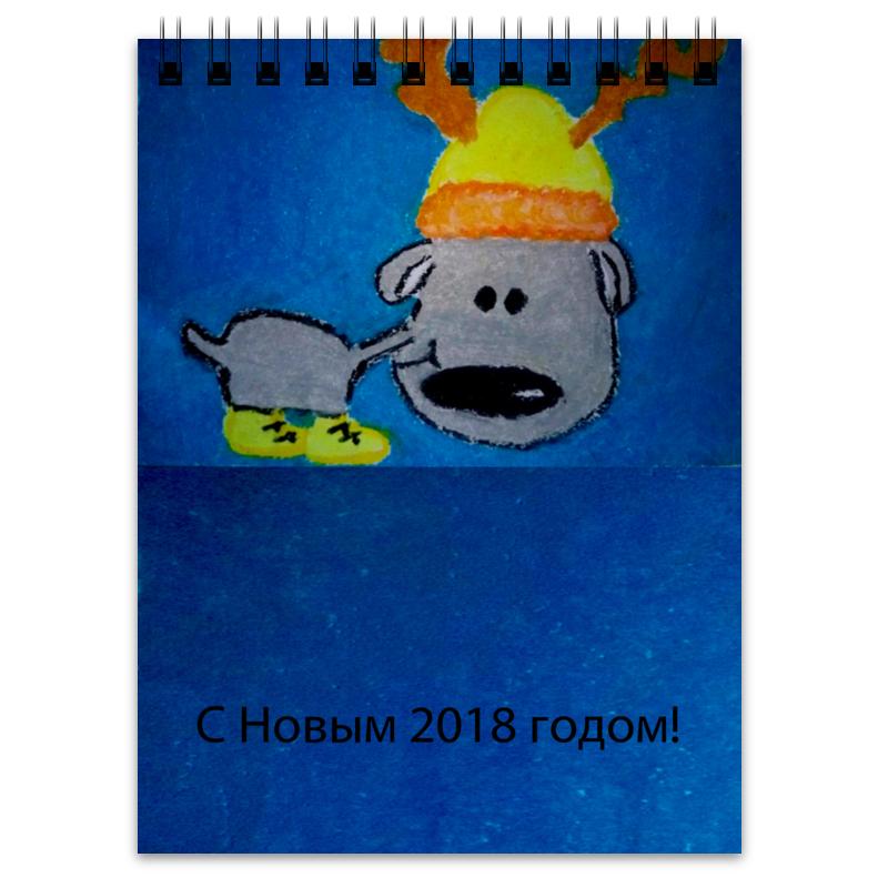 Printio Блокнот Новогодний лось