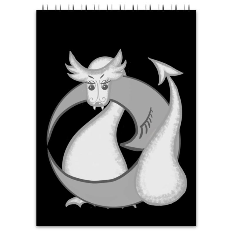 Printio Блокнот Китайский гороскоп - год дракона