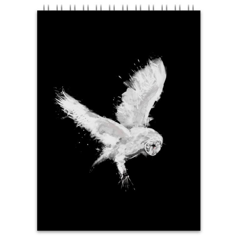 Printio Блокнот Белая сова