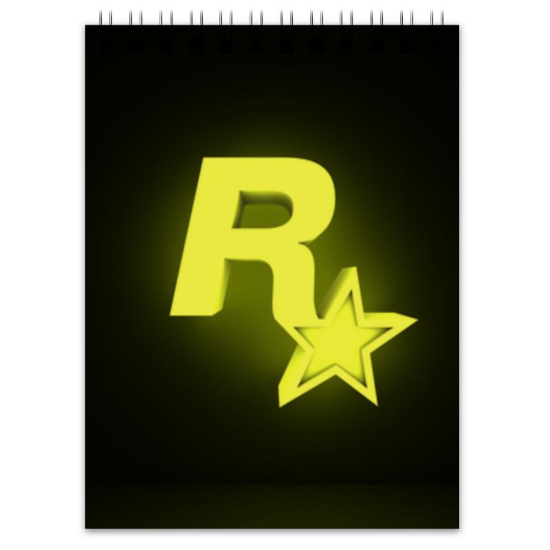 printio блокнот rockstar games Printio Блокнот Rockstar games