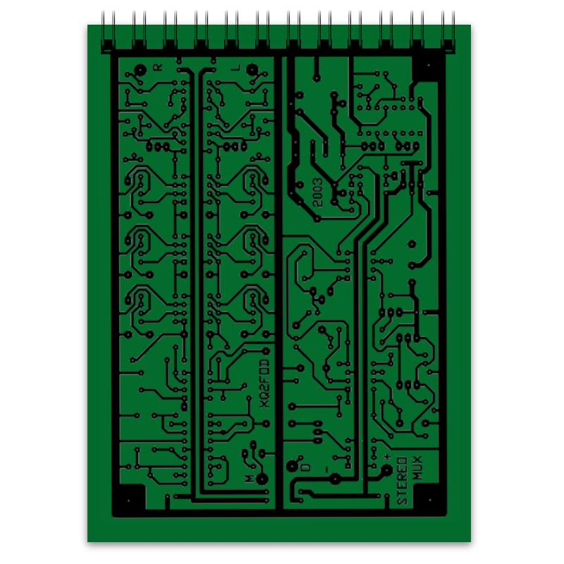 Printio Блокнот Электроника