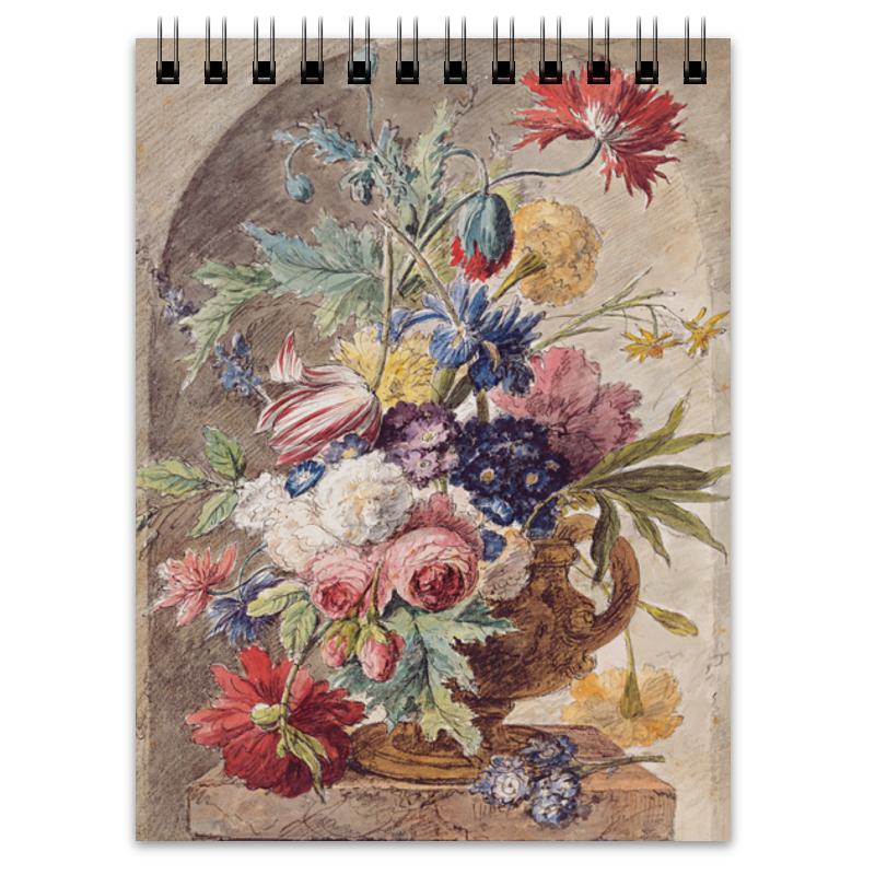 Printio Блокнот Цветочный натюрморт (ян ван хёйсум) printio открытка цветочный натюрморт ян ван хёйсум