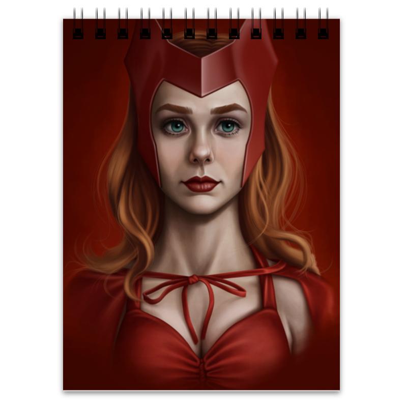 блокнот printio witch doctor Printio Блокнот Алая ведьма / scarlet witch