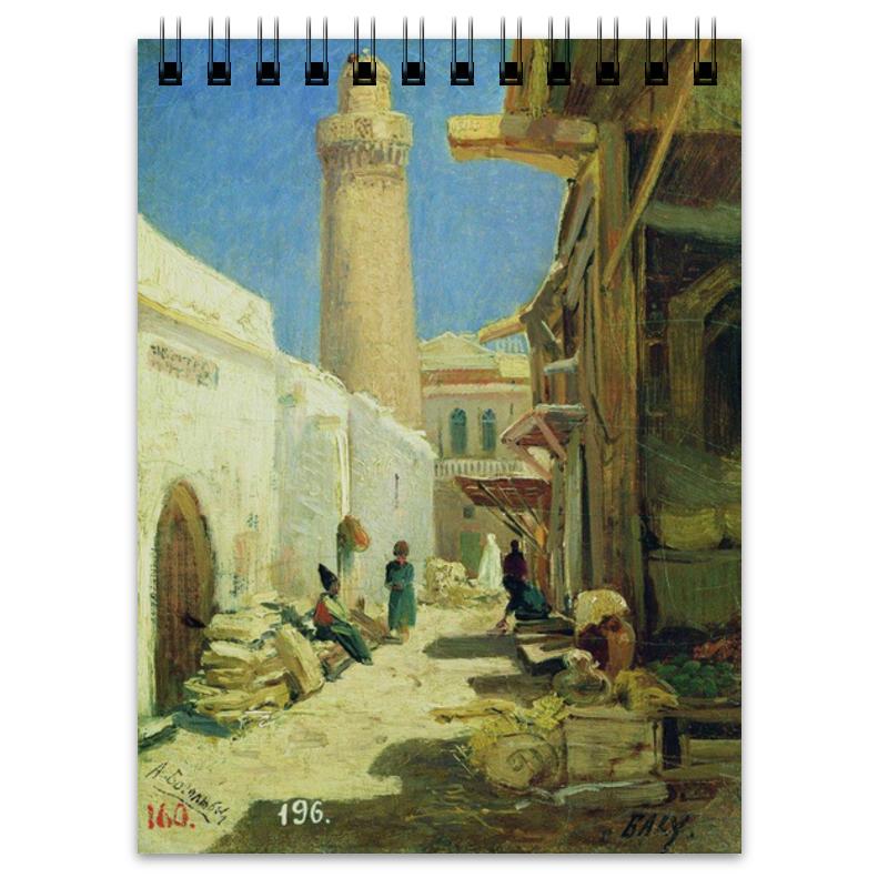 Printio Блокнот Баку. улица в полдень (алексей боголюбов)