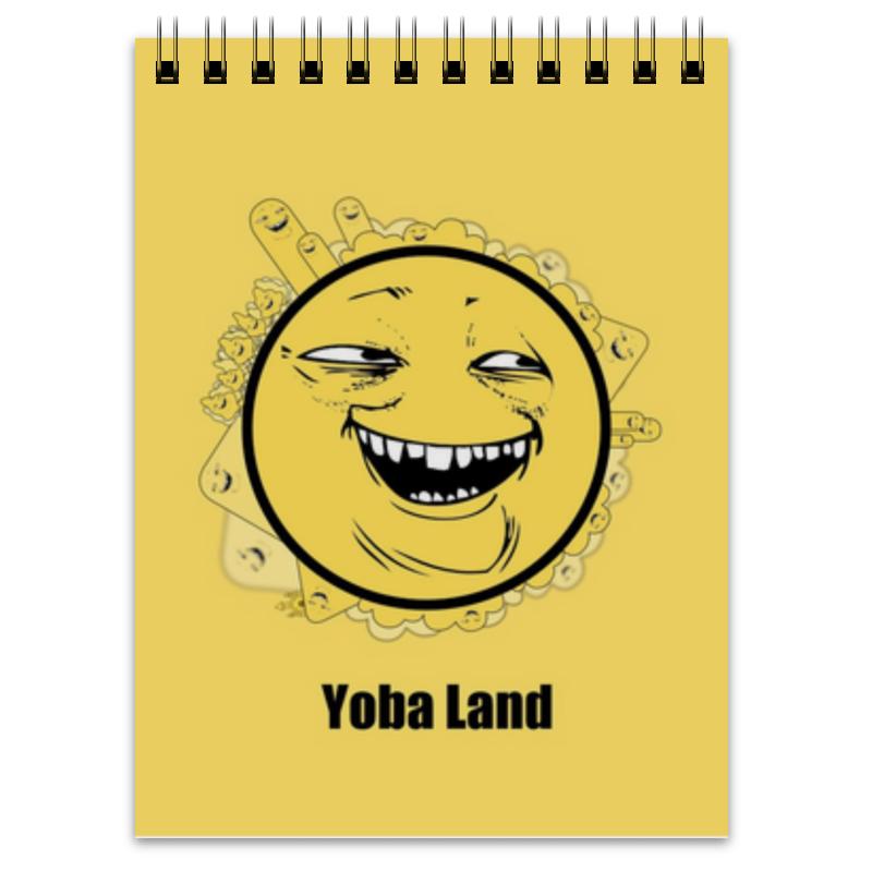 Printio Блокнот Yoba-фейс