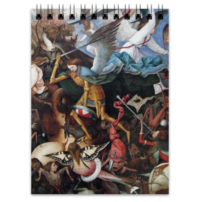 Printio Блокнот Падение мятежных ангелов (питер брейгель)