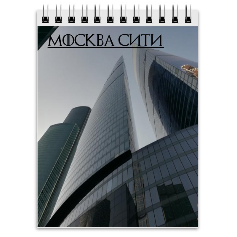 Printio Блокнот Москва сити