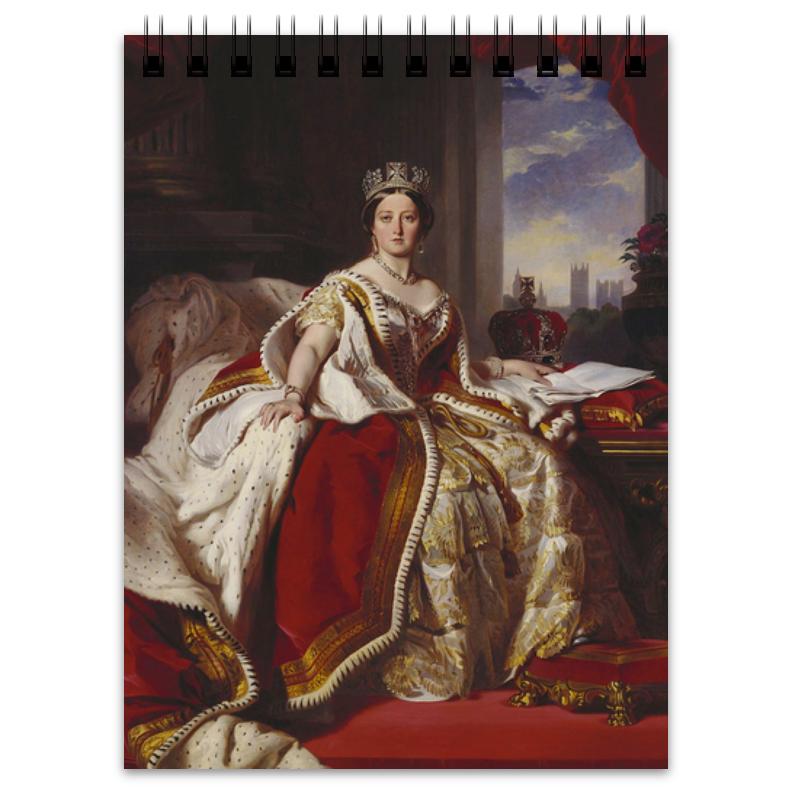 Printio Блокнот Портрет королевы великобритании виктории
