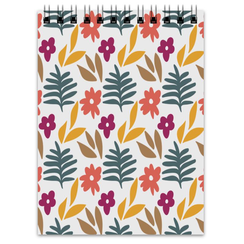 Printio Блокнот Листья и цветы