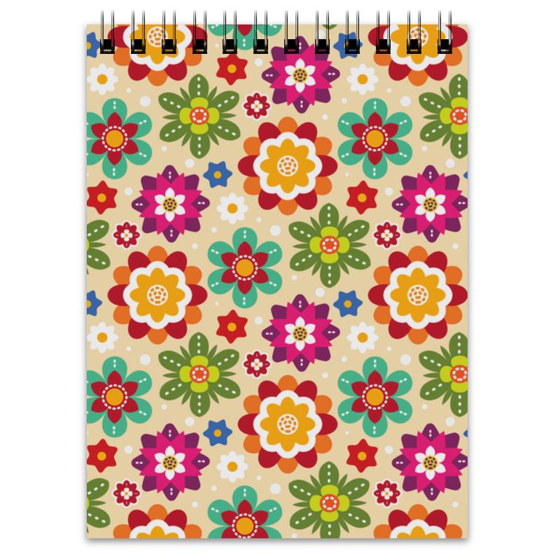 Printio Блокнот Цветы