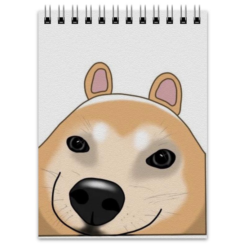 Printio Блокнот Довольный пёс суми