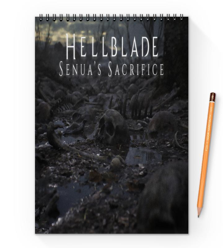 Printio Блокнот на пружине А4 Hellblade