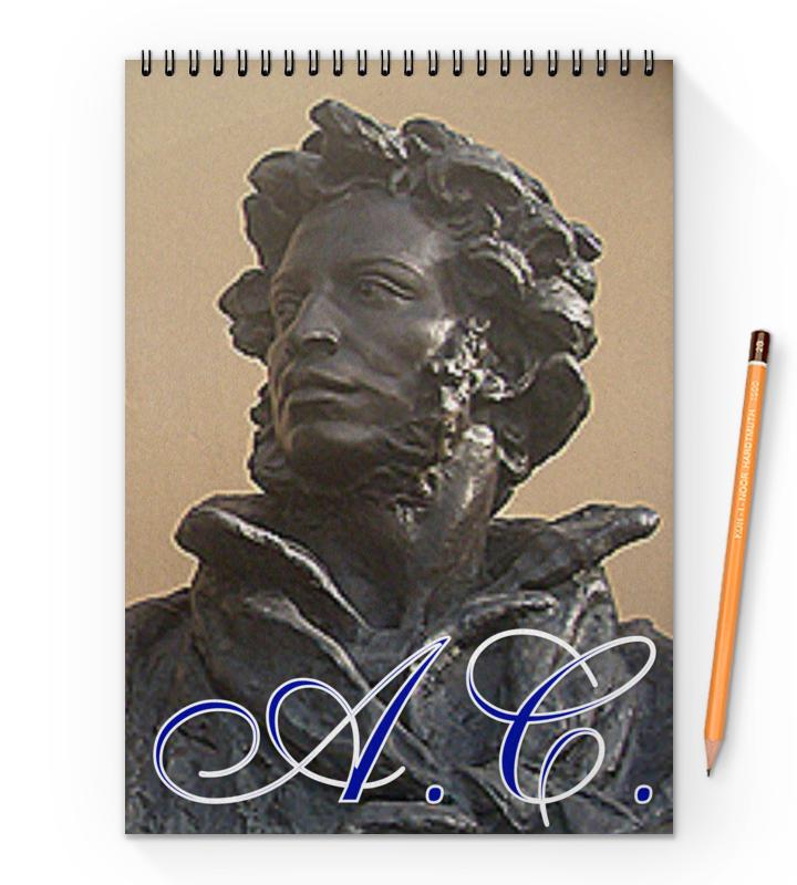 блокнот на пружине а4 printio олень Printio Блокнот на пружине А4 Пушкин.
