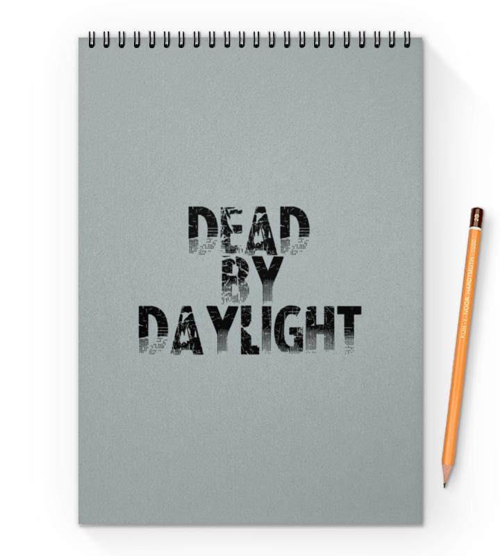 Printio Блокнот на пружине А4 Dead by daylight printio блокнот на пружине а4 sketchbook by rey