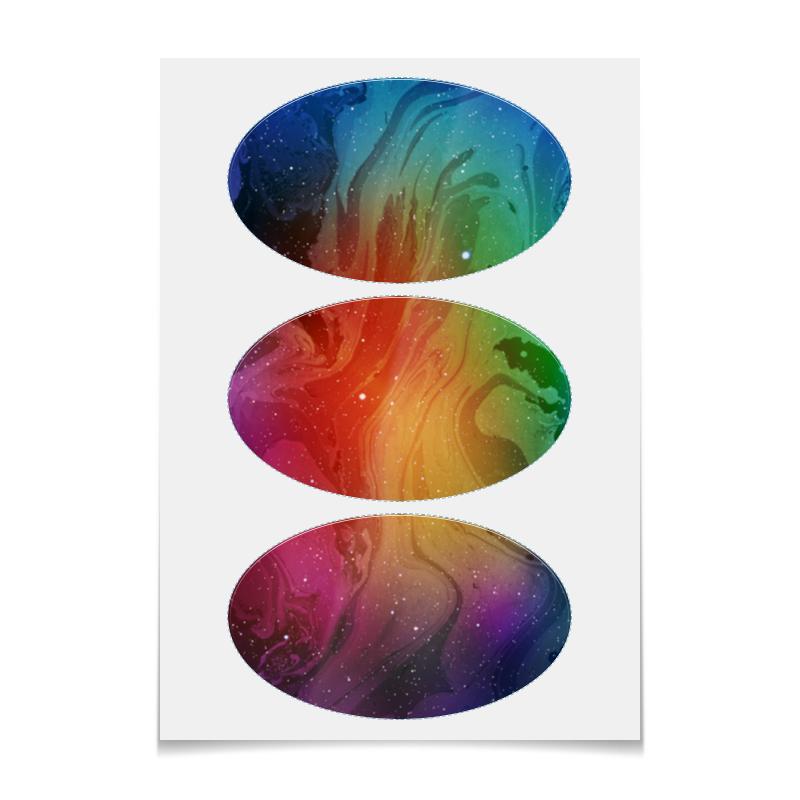 Printio Наклейки овальные 15×9 см Без названия