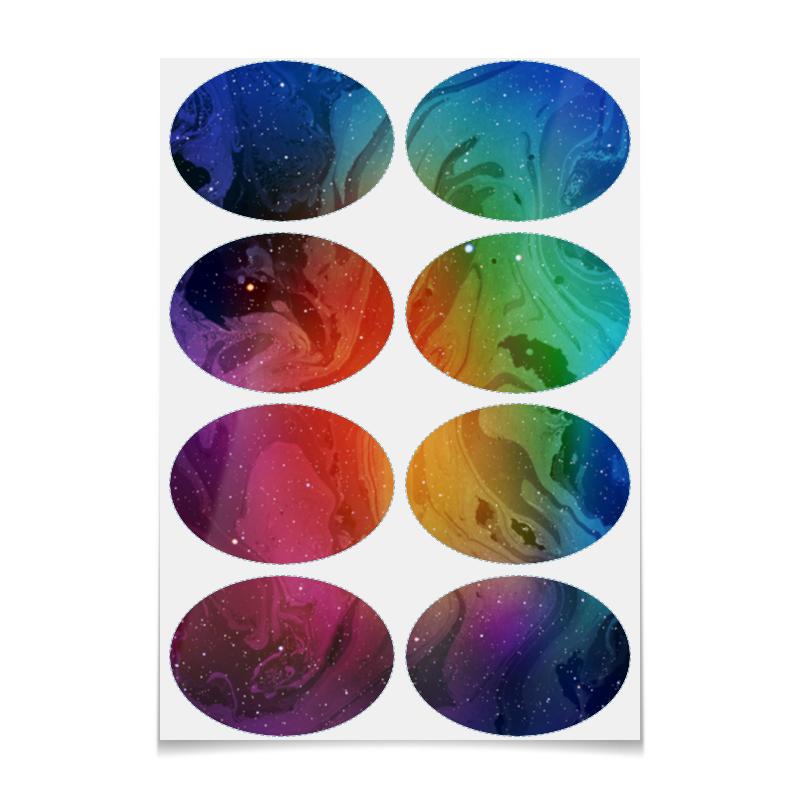 Printio Наклейки овальные 9.8×7 см Без названия