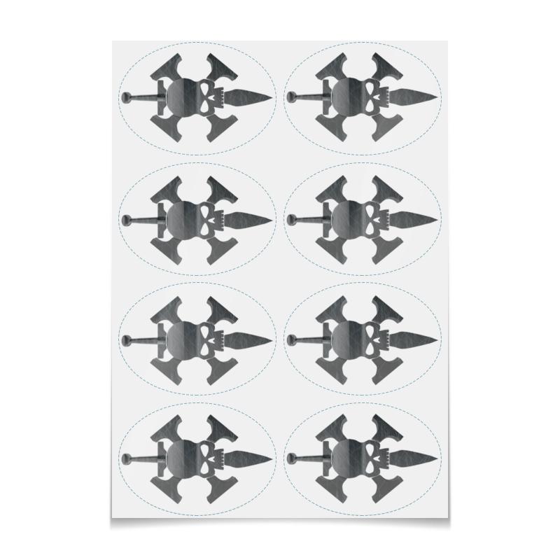 Printio Наклейки овальные 9.8×7 см Officio assassinorum