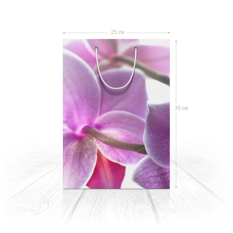 Printio Пакет 25x35x8 cм Орхидея