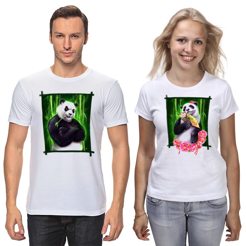 Printio Футболки парные Я твоя панда