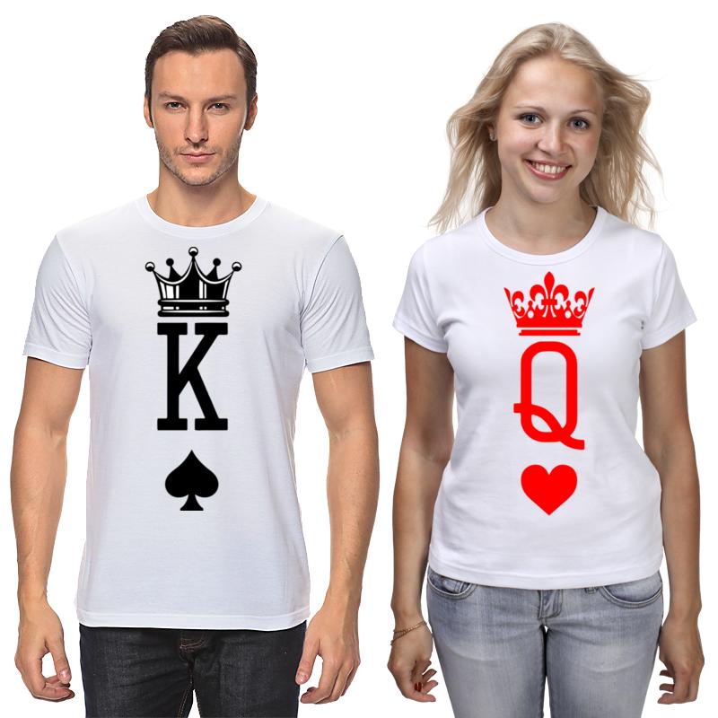 Printio Футболки парные King&quinn