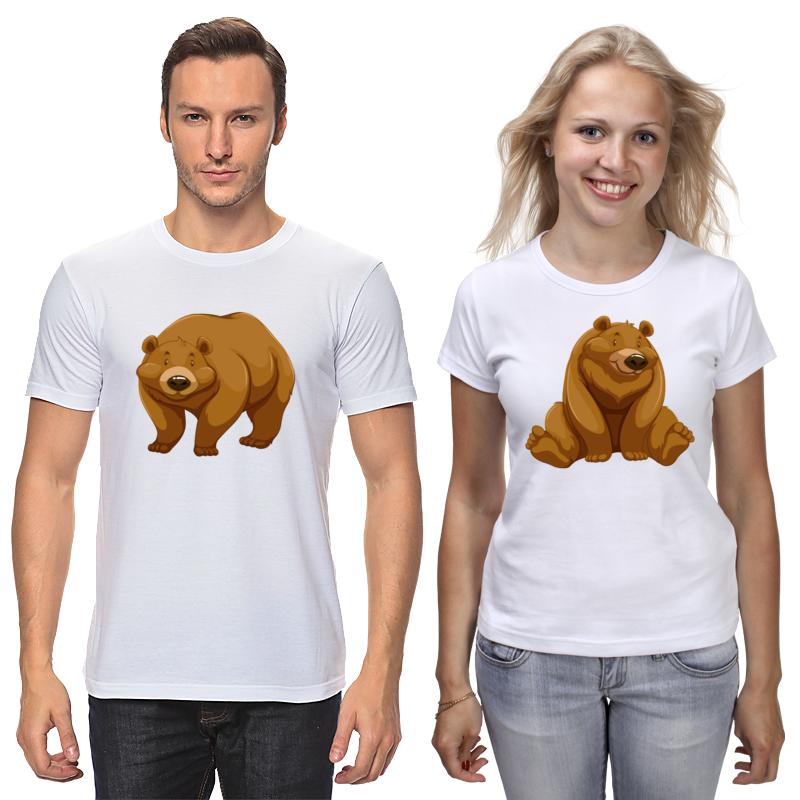 Printio Футболки парные Медведь printio футболки парные футболки парные